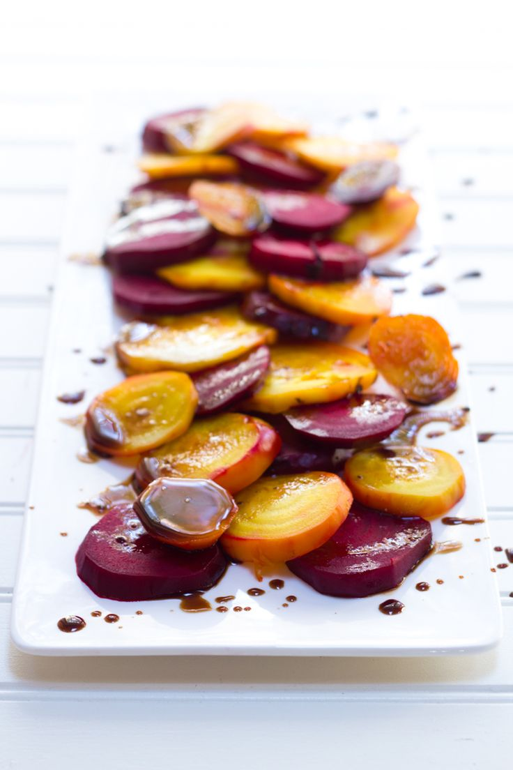 Roasted Beets with Balsamic Glaze « Food « back to her roots