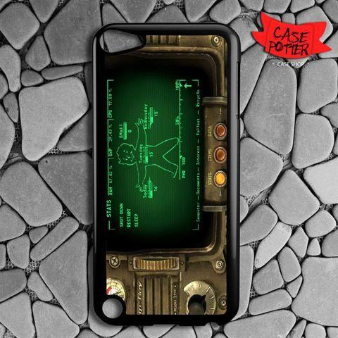 Fallout Pipboy Rainmeter iPod 5 Black Case
