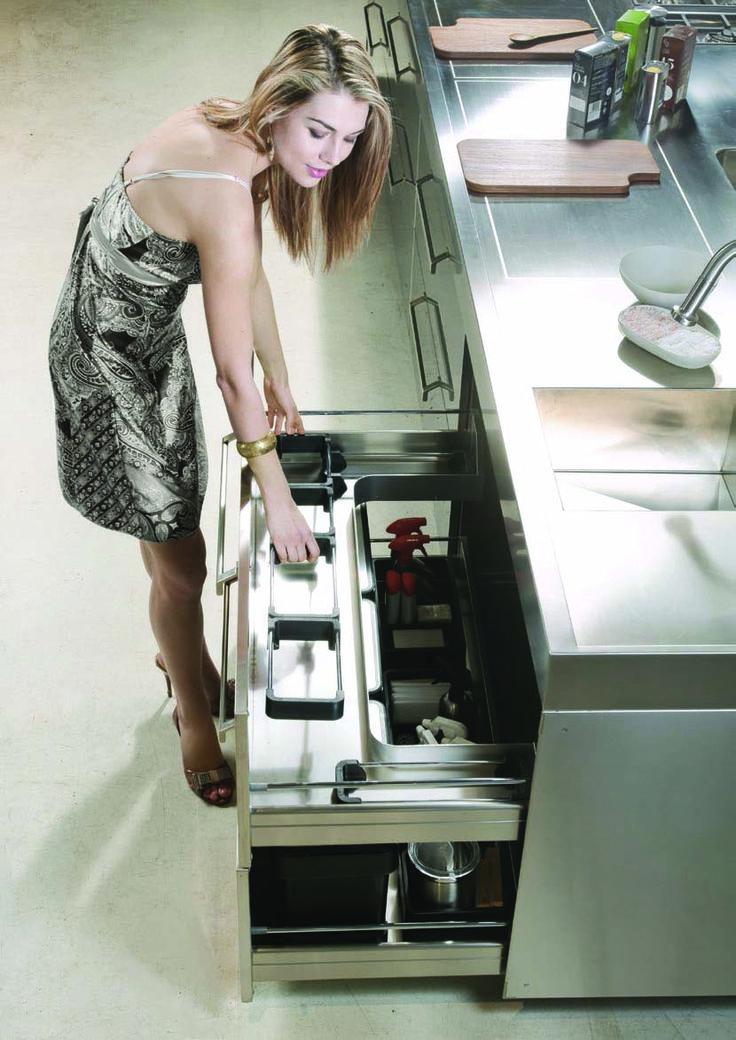 Vibo Magnetic Under Sink Waste Bins