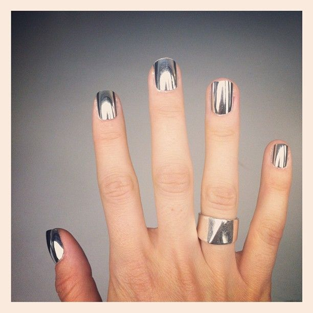 Avon Chrome Nail Powder: 57 Best Images About Chrome Nails On Pinterest