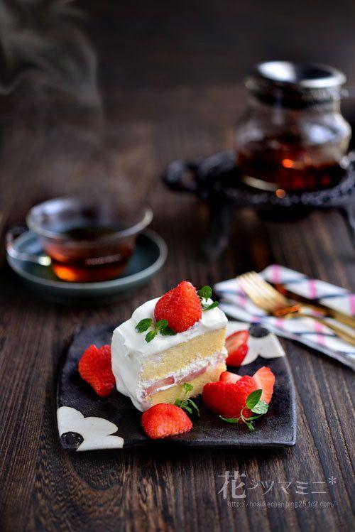 苺のショートケーキ - hand made StrawberryCake