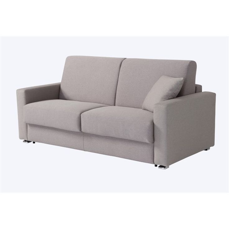Pezzan Breeze Queen Pull Out Sofa Bed In Light Gray