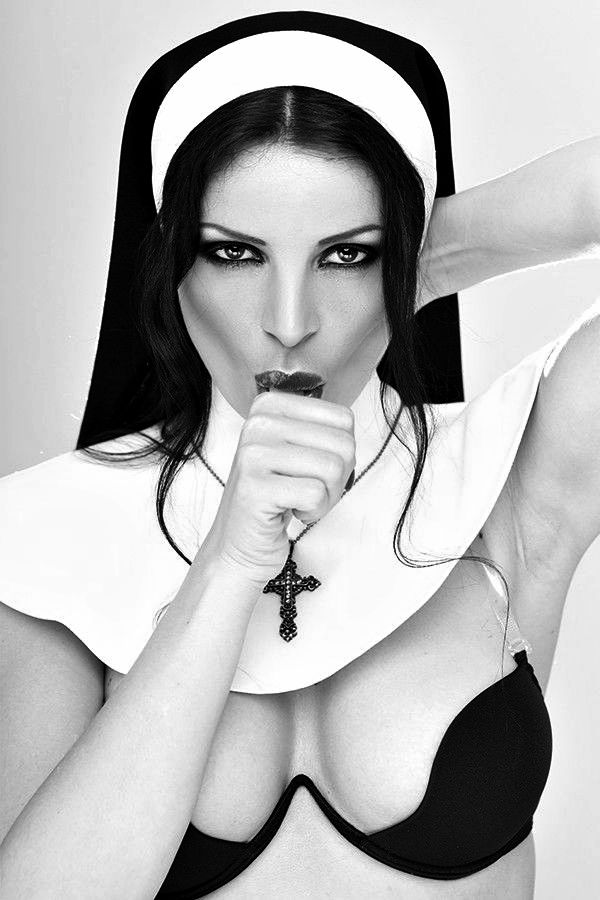 Nika and allegra lesbian nuns