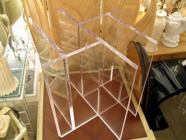 Superior Lucite Table Base   Google Search