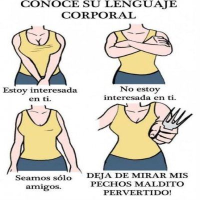 Lenguaje Corporal Ilustrado #ImagenDelDia