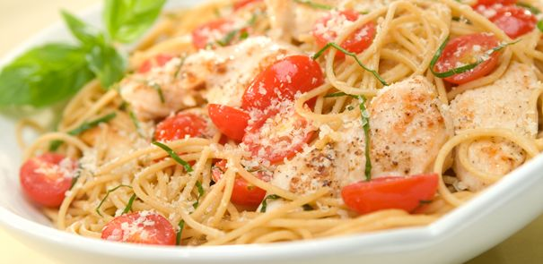 Keep your pasta summer fresh! Making summer chicken basil pasta with sun-kissed tomatoes tonight: http://www.becel.ca/en/becel/HeartHealthyRecipes/Main-Dishes/Summer-Chicken-Basil-Pasta.aspx