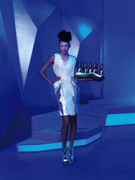 Futuristic Party Lounges : heineken club