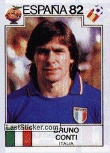 Чемпион мира: 1982 Фалькао, который после игры сказал о Конти: «Настоящим бразильцем на поле был он»