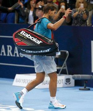 Rafael Nadal eliminado ATP da Basileia tênis (Foto: Reuters)