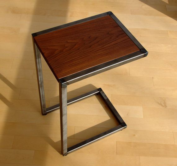 Hey, I found this really awesome Etsy listing at https://www.etsy.com/listing/230194859/wood-and-steel-c-table