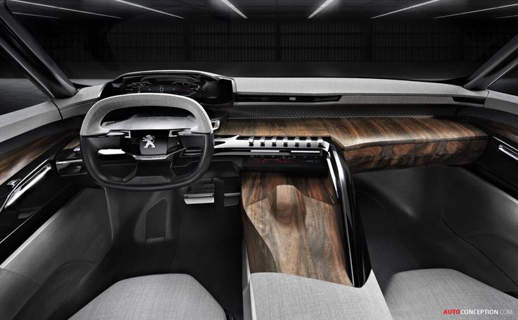 Peugeot EXALT Concept - Great interior design
