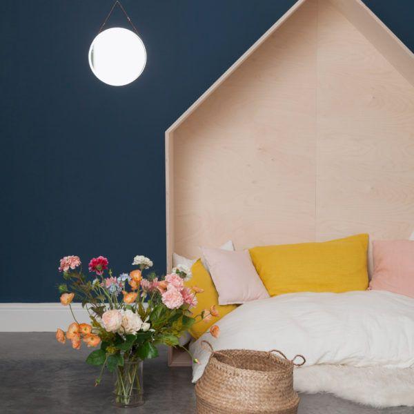 Tête de lit maison pour chambre d'enfant !