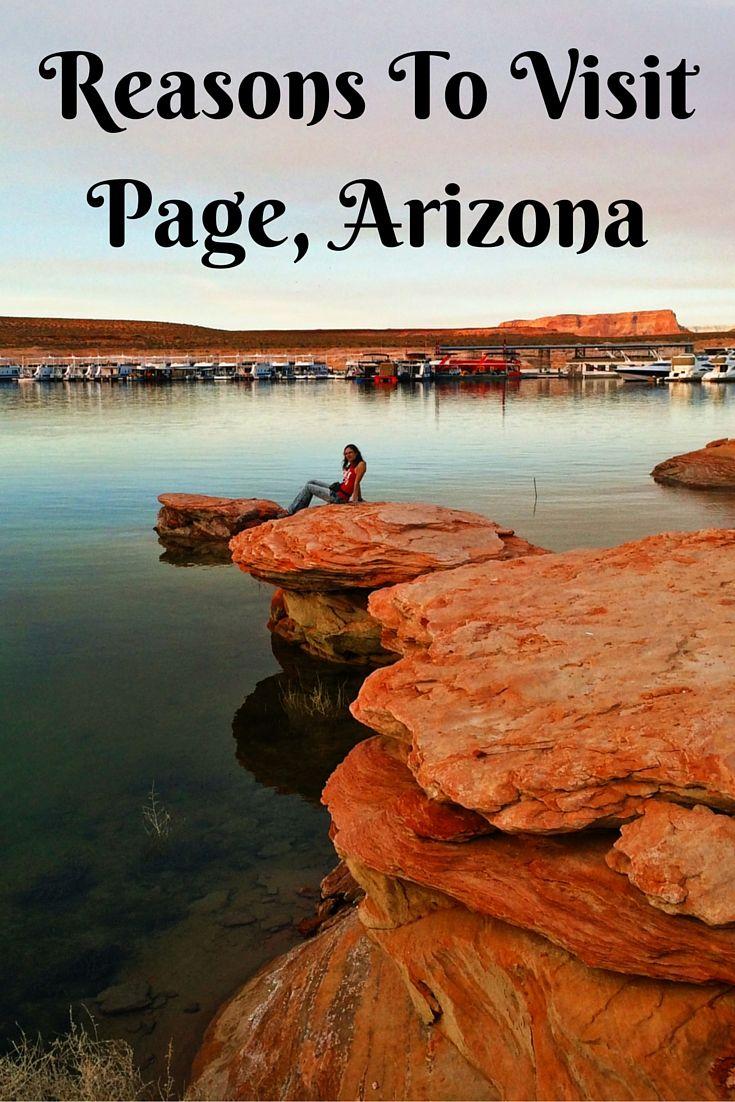 Reasons To Visit Page, Arizona