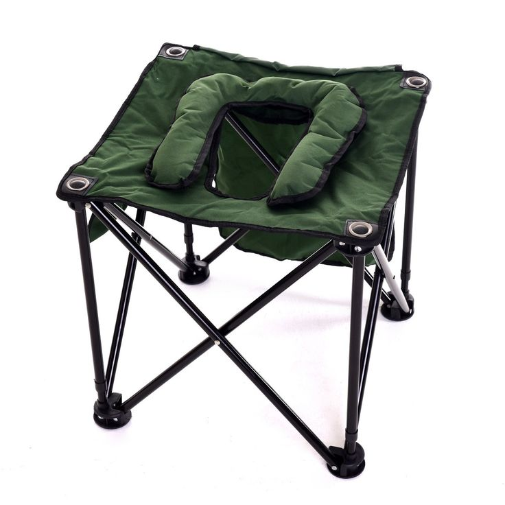TravelJohn Foldable Commode Chair | portable commode chair