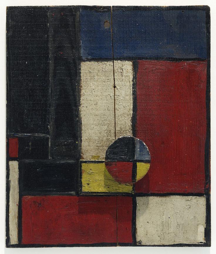 Joaquín Torres-García 'Planos de color con dos maderas superpuestas', 1928