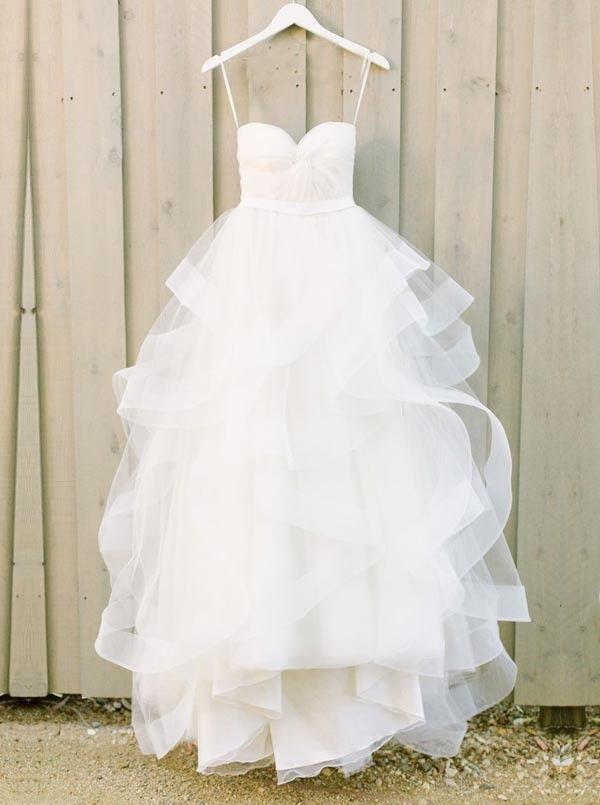 Best 25 tulle wedding dresses ideas on pinterest tulle for Tulle and organza wedding dresses