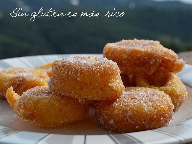 Sin gluten es más rico: Buñuelos de calabaza sin gluten