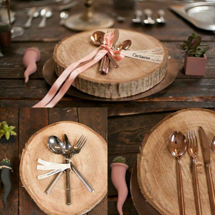 Sotto piatto legno 100%