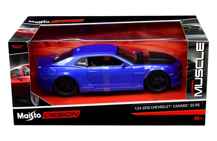 Diecast Auto World - Maisto 1/24 Scale Modern Muscle 2010 Chevy Camaro SS RS Diecast Car Model 31359, $16.99 (http://stores.diecastautoworld.com/products/maisto-1-24-scale-modern-muscle-2010-chevy-camaro-ss-rs-diecast-car-model-31359.html)