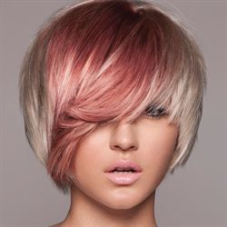 A Blushing Blonde Color Technique from Keratin Complex