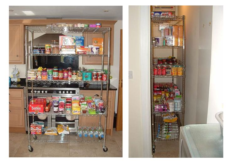 Great photos sent to us by a lovely customer Cheryl Shilvock. Cheryl has a tiny cupboard that can not house wall shelving - so using our Chrome Wire Shelving to solve her cupboard storage issue was the perfect solution.  Simply wheel in and out when required!