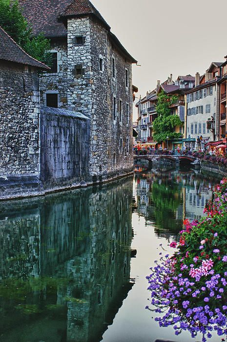 The beautiful colors of Annency, France
