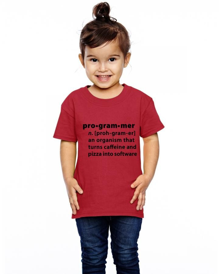 programmer dictionary definition Toddler T-shirt