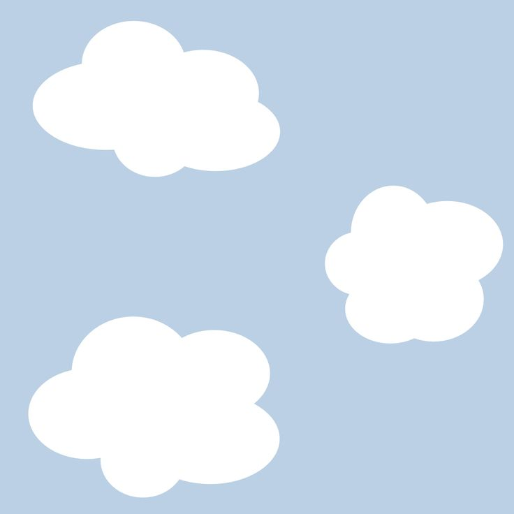 Free Printable Clouds Backing Paper