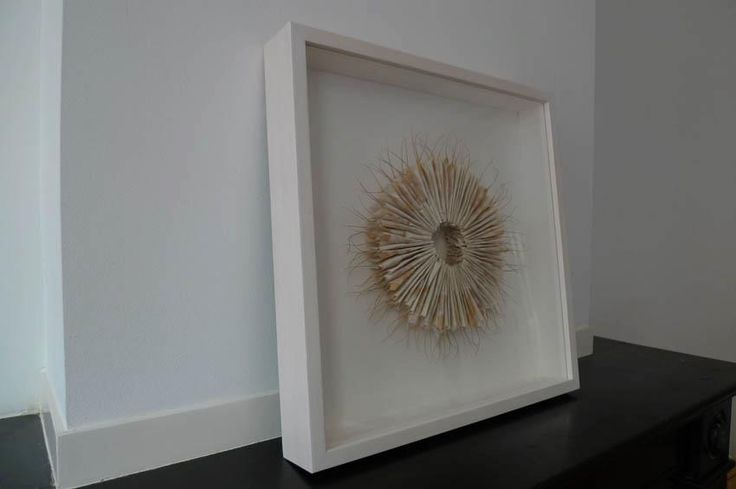 Frame for paper object.