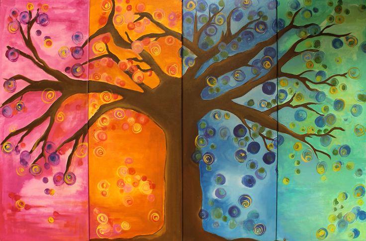 Cuadriptico / el árbol de la vida . Loli Roberts