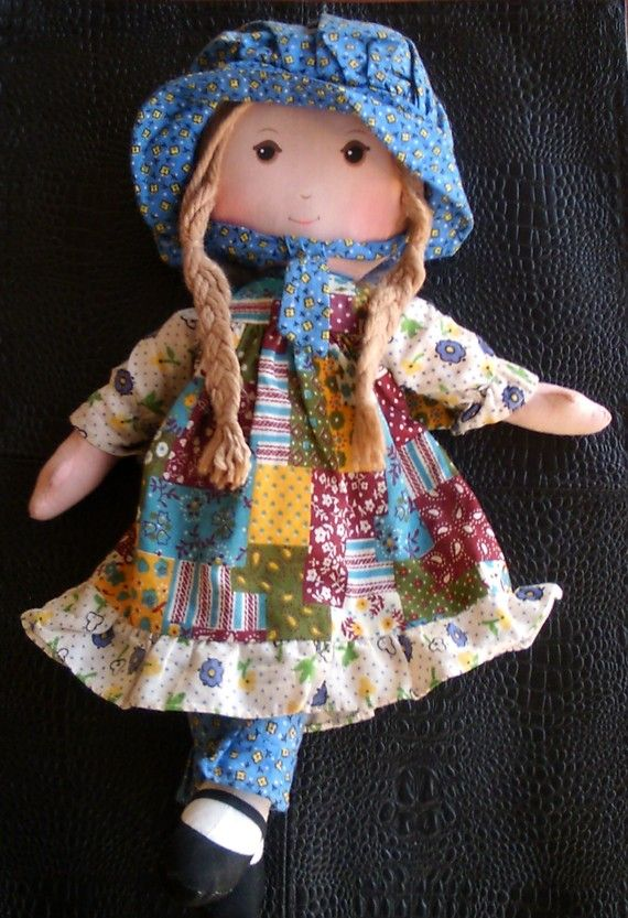 Vintage Holly Hobbie Doll...holy sh*t I'm clearly getting old,I had one of these