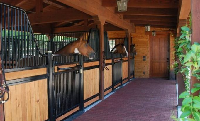 Beautiful stalls and barn 2 stall horse barn