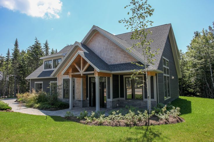 The Chester show home is now complete as of August 2015. It showcases a unique blend of warm wood siding and exposed timbers with modern and sophisticated finishes.