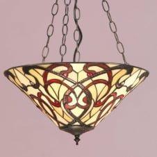 RUBAN Art Nouveau Inverted Ceiling Pendant