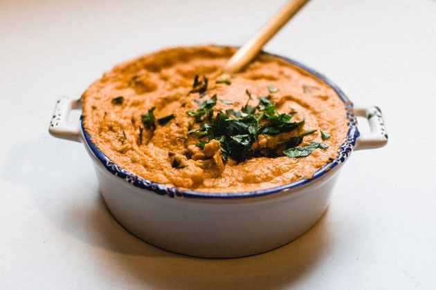 Dips & Saucen - Paprika Hummus | Vegan Guerilla