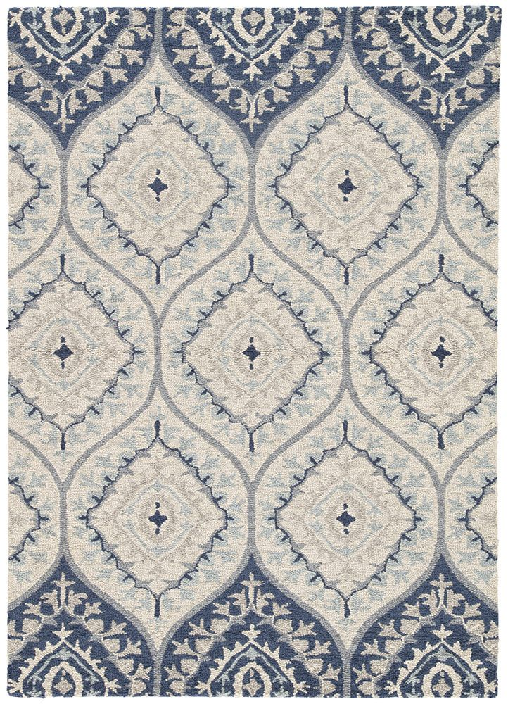 Styled With The Sweeping Fluidity Of An Ocean This Floral Landscape Was Designed To Express Movement In Nature An Wool Area Rugs Area Throw Rugs Colorful Rugs