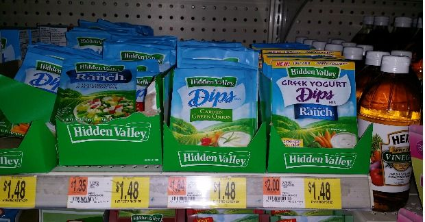 Hidden Valley Ranch Packets Just $0.98 At Walmart!