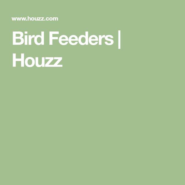 Bird Feeders   Houzz
