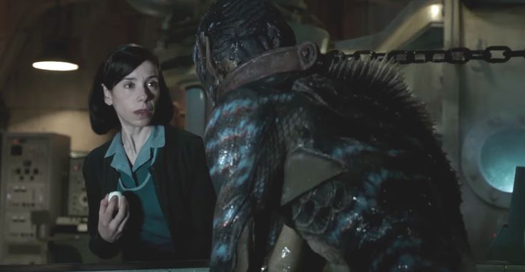 #Fox #Searchlight released The #first #trailer for #GuillermodelToro 's #new #film #TheShapeofWater . The #story follows a #lonely #mute #woman named #Elisa ( #SallyHawkins ) who works as #janitor at a top-secret #government #laboratory  -  ギレルモ・デル・トロ監督が冷戦下の極秘研究所を舞台にして、話すことができない孤独な女性と #半魚人 との恋を描いたダーク・ファンタジー映画の新作「ザ・シェイプ・オブ・ウォーター」の美しくも、スリリングな予告編を初公開 - #映画 #エンタメ #セレブ & #テレビ の 情報 ニュース from #CIAMovieNews / CIA こちら映画中央情報局です