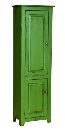BACHELORS CABINET Bedroom Bathroom Storage Dresser Hutch w Shelves Handmade