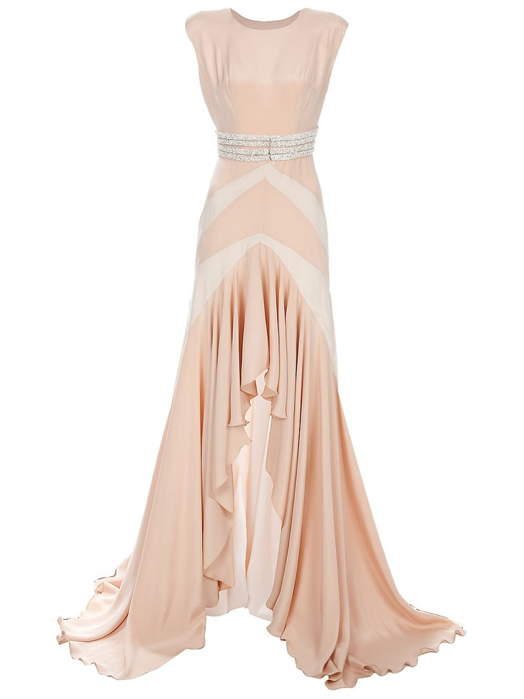 Pink gown by THOMAS KIRCHGRABNER #weddingdress