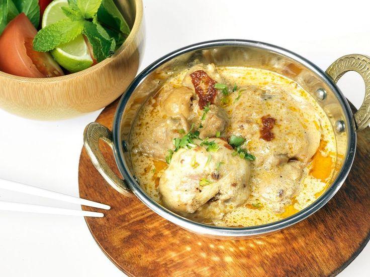 Курица карри по‑тайски