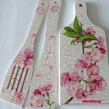 decoupage ----- cutting board------------- deska do krojenia ------- komplety-12047464_5553362608.img (360×360)