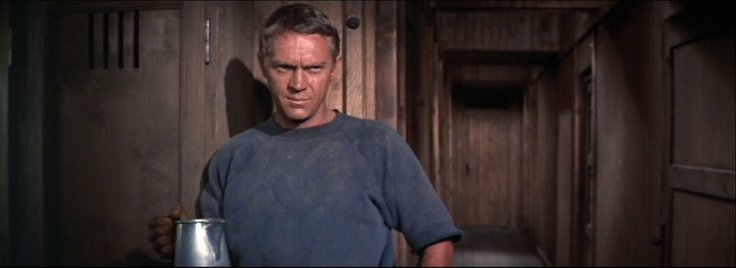 Steve McQueen, The Great Escape, 1963, 33 years old