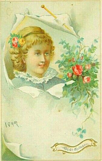 Nyttårskort datert 1899