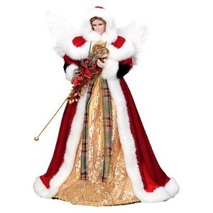 36 best angel tree topper s images on pinterest christmas angels christmas ornaments and. Black Bedroom Furniture Sets. Home Design Ideas