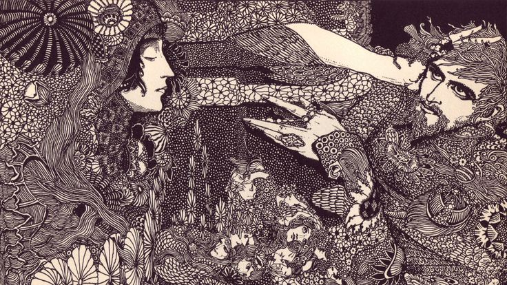 The Beautiful Illustrations That Made Poe's Stories Terrifying In 1919 / Harry Clarke: Clarke S Beautiful, Poe Illustration, Edgar Allan Poe, Art, Harry Clarke S, Beautiful Illustrations