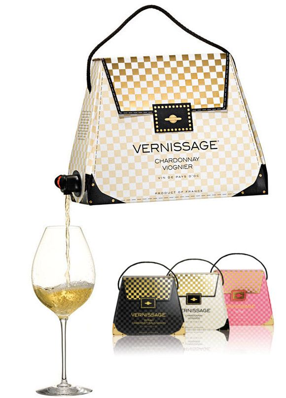 Vernissage wine purse