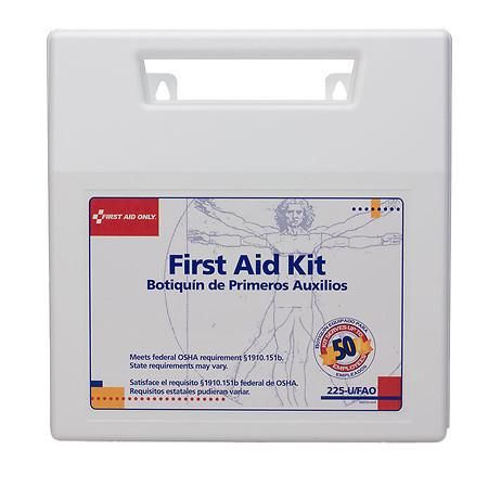 First Aid Only First Aid Kit 196 pieces - 1 ea