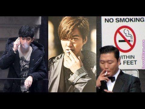 "8 Korean celebrity smokers that might shock you on ""ilovekstars"""